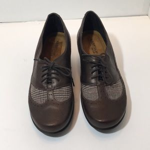 Naot Brown Leather Women's Shoes Size 37 US SZ 6 M